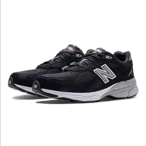 new concept 780bf fdee0 NEW Men's New Balance 990 v3 Black Shoes USA Made Boutique